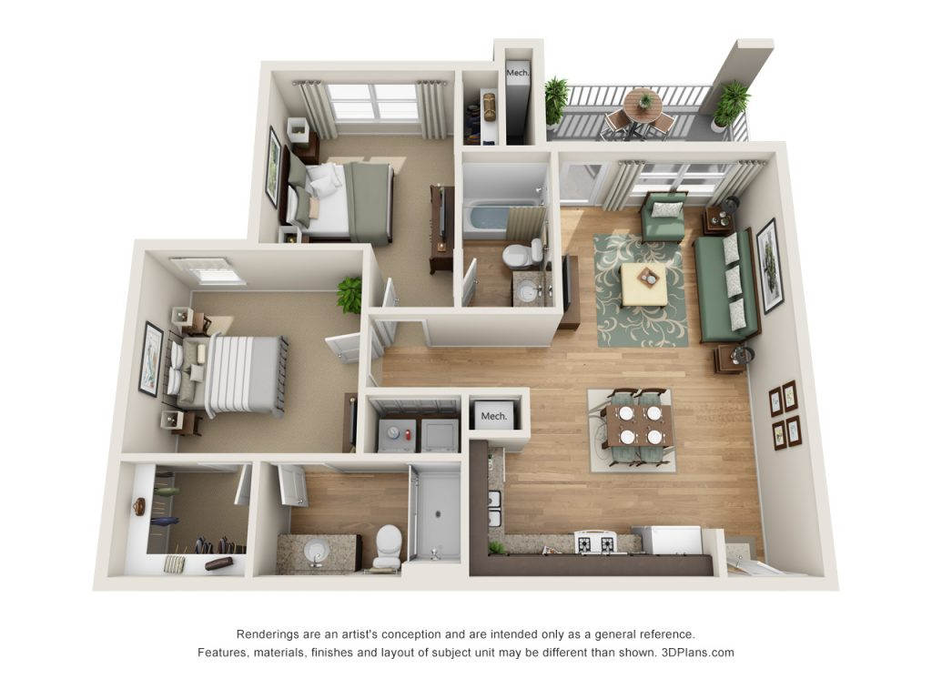 The Crossings 2BD