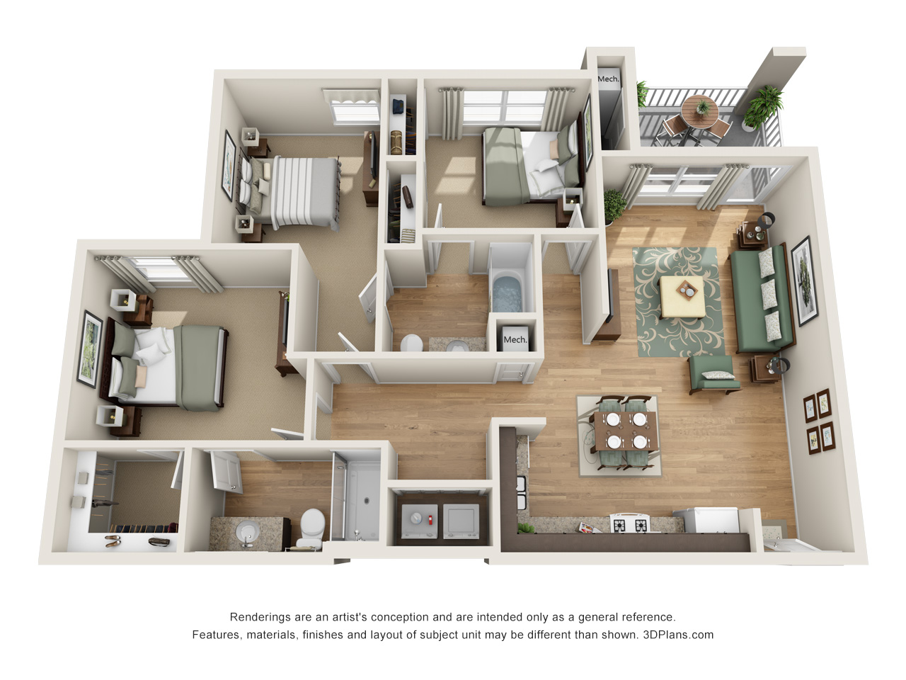 The Crossings 3BD